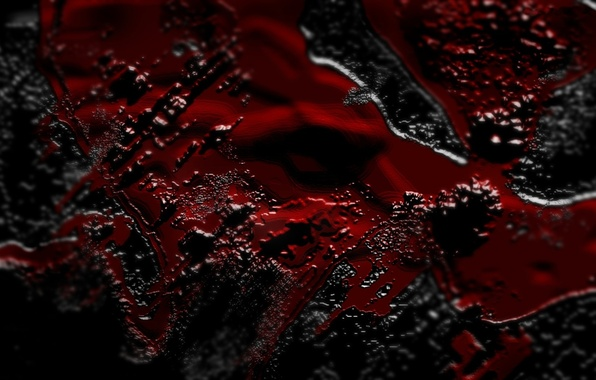 Picture background, black, red