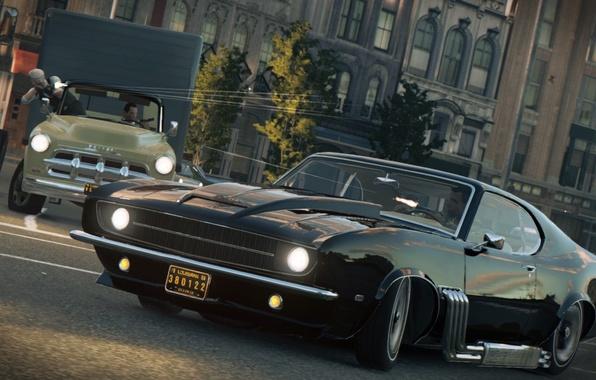Photo Wallpaper The Game Cars 2016 Mafia III 3