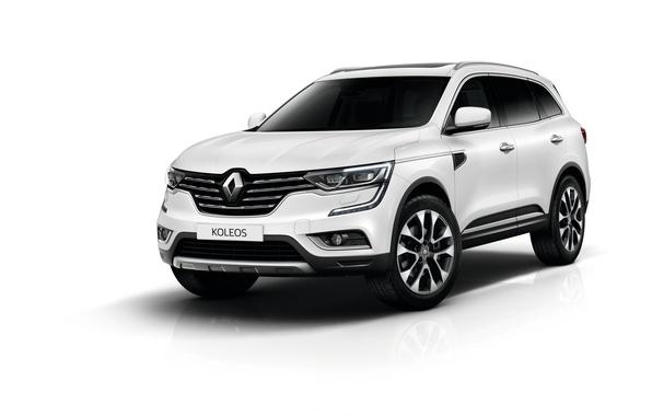 Picture background, Renault, Reno, crossover, Koleos, Koleos