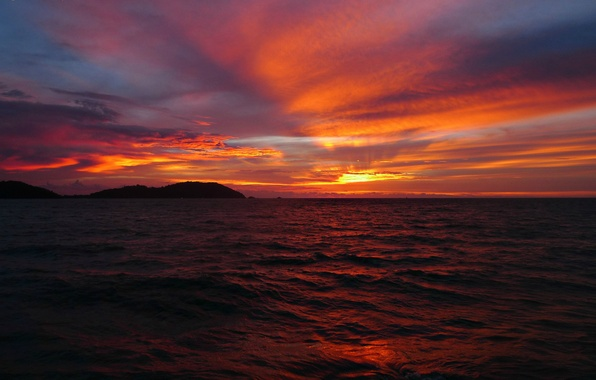 Wallpaper sea the sky the sun clouds sunset red clouds photo wallpaper sea the sky the sun clouds sunset red thecheapjerseys Choice Image