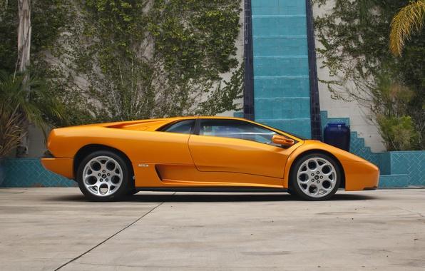 Picture side view, Lamborghini, Diablo, lamborghini diablo, styling prototype
