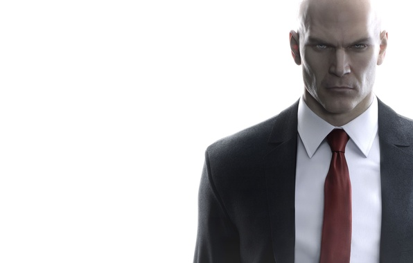 Picture Look, Hitman, Square Enix, Tie, Agent 47, Jacket, IO Interactive, Assassin, HITMAN, Forty-seventh