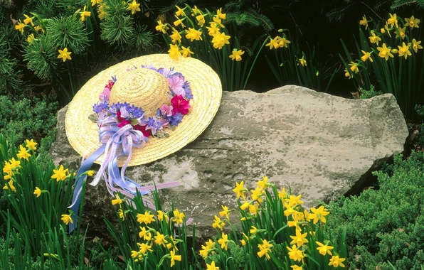 Picture Flowers, Stone, Kentucky, Hat, Louisville