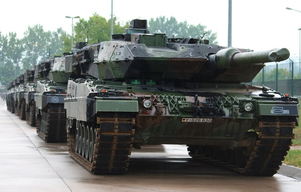 Picture weapons, army, tank, Leopard 2 A5