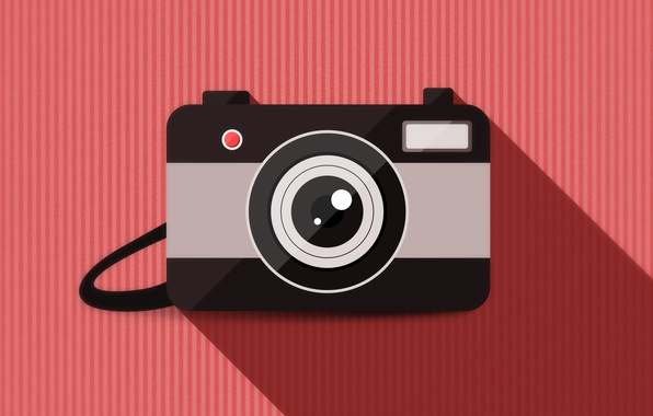 Picture background, vector, camera, lens
