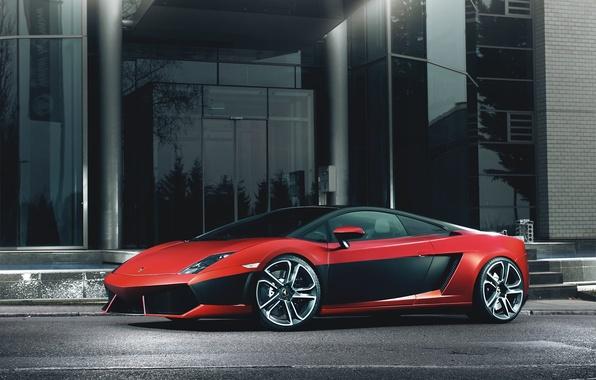 Picture red, Lamborghini, red, Gallardo, Lamborghini, Gallardo, LP 560-4, Fernandez World Photography