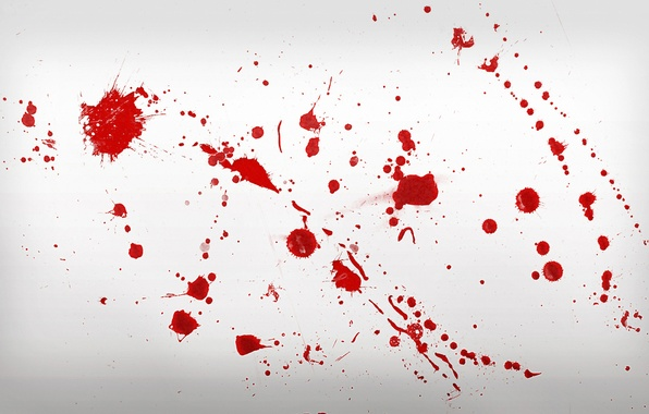 Picture squirt, blood, blood, splatter, complete peace of mind