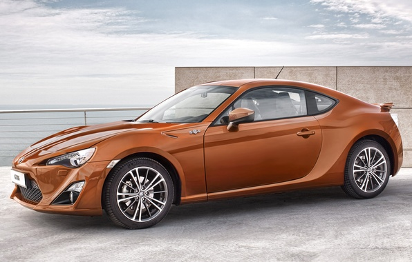 Picture the sky, coupe, sports car, side view, toyota, Toyota, gt 86, hachiroku, hachiroku, GT 86