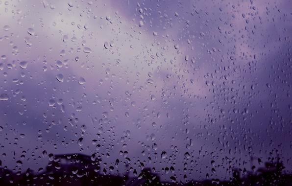 Picture rain, window, colour, cold, today