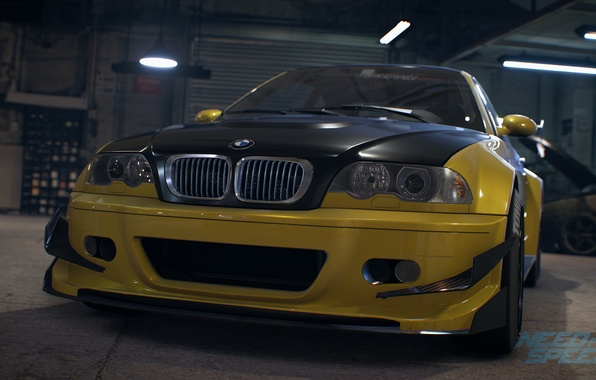 Photo wallpaper BMW, tuning, E46, Need For Speed 2015