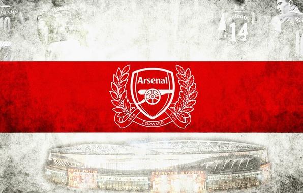 Picture football, club, Logo, Arsenal, Football, Arsenal