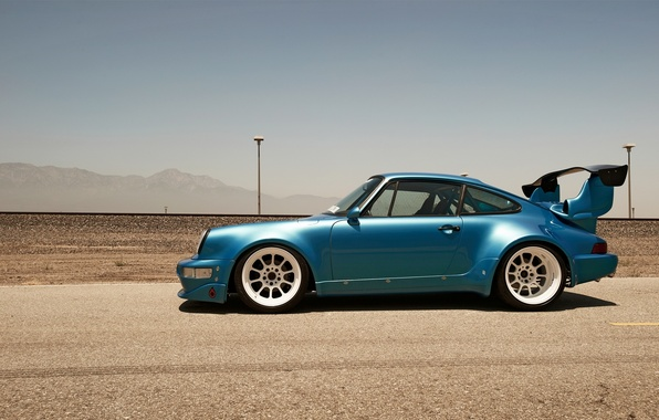 Picture race, desert, track, 911, Porsche, power, turbo, motor, turbo