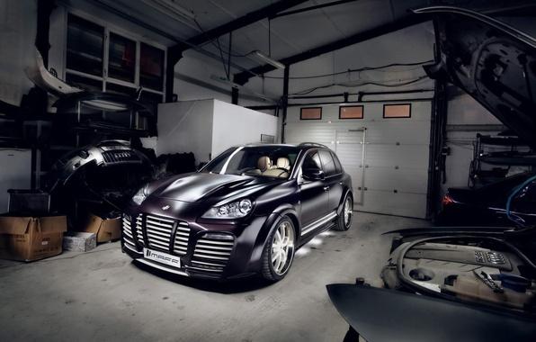 Picture garage, Porsche, cayenne