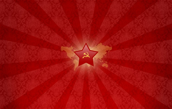 Picture red, star, Hammer, USSR, Hammer