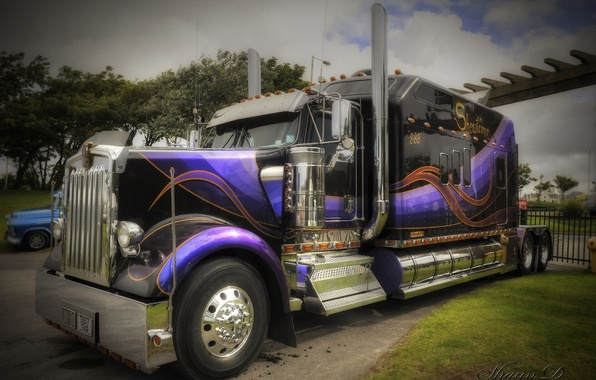Picture HDR, truck, Kenworth