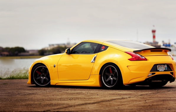 Picture Nissan, tuning, 370z, stance