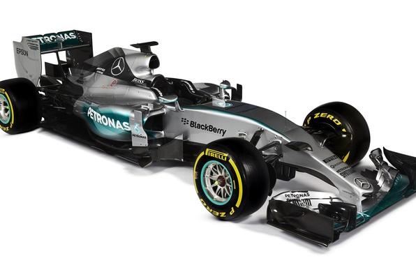 Picture formula 1, Mercedes, AMG, Hybrid, 2015, W06