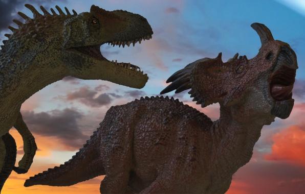 Picture meteorite, extinction, dinosaurs