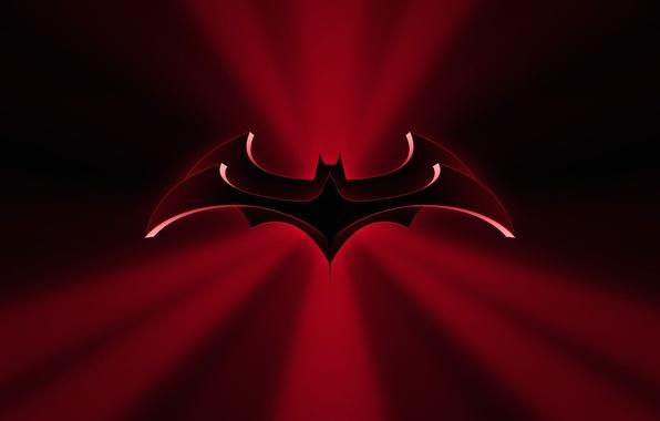 Picture the film, Batman, silhouette, emblem