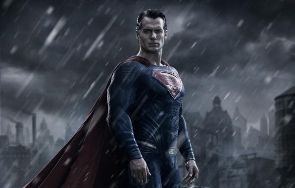 Picture City, Action, Fantasy, Clouds, Sky, Hero, Batman, Rain, Wallpaper, Comics, Clark Kent, Man of Steel, …