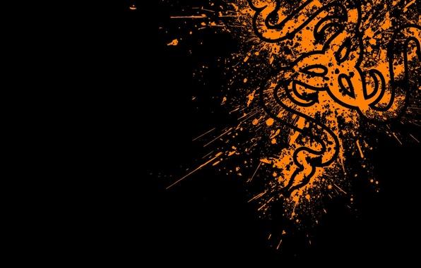 Picture Orange, Logo, Razer