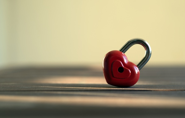 Picture love, heart, romantic, lock