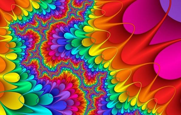 Picture color, fractal, palette