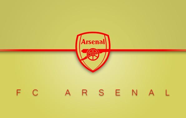 Wallpaper Arsenal, Logo, Minimalism, Football Images For