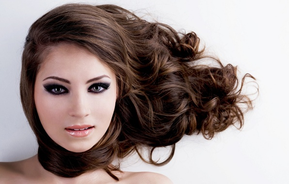 Picture sexy, eyes, hair, hairstyle