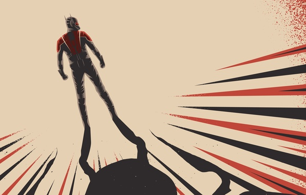 Picture background, fiction, shadow, costume, superhero, marvel, comic, fan art, Ant-man, Ant-Man