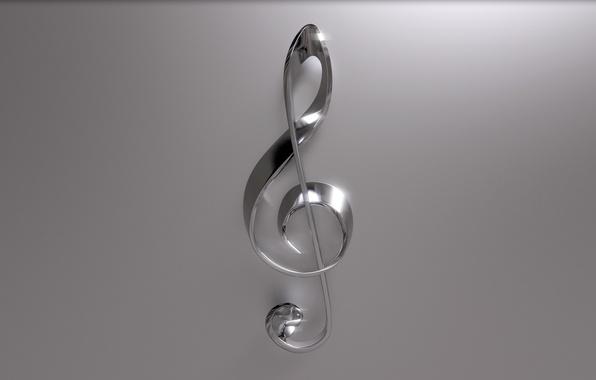 Picture notes, treble clef, violin