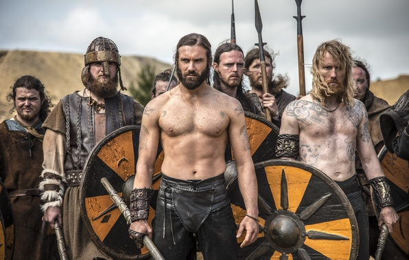 Picture the series, warriors, drama, Vikings, historical, The Vikings, Clive Standen, Rollo