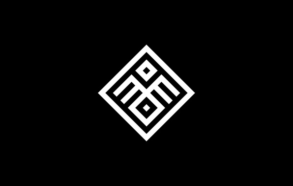 Picture black, pattern, rhombus
