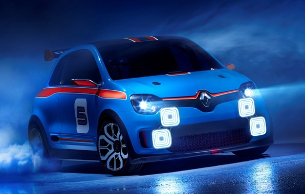 Picture Concept, the concept, Renault, twilight, Reno, the front, Twin'run
