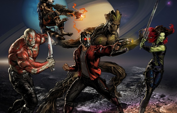 Star Lord And Rocket Raccoon By Timothygreenii On Deviantart: Wallpaper Comic, Guardians Of The Galaxy, Guardians Of The