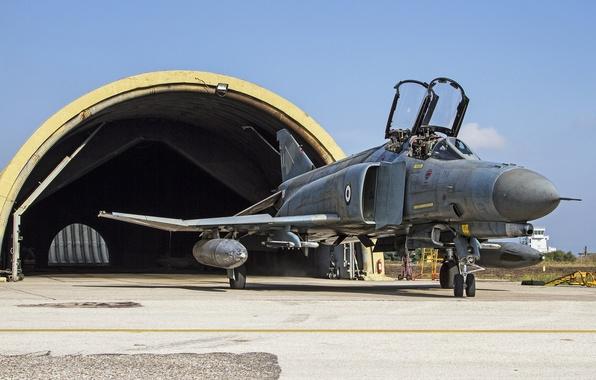 Picture fighter, hangar, multipurpose, Phantom II, F-4E, Phantom II