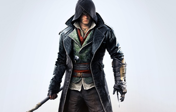 Picture Assassins Creed, Hood, Cloak, Syndicate, Syndicate, Medallion, Equipment, Ubisoft Quebec, Cane, Blade, Assassin's Creed: Syndicate, …