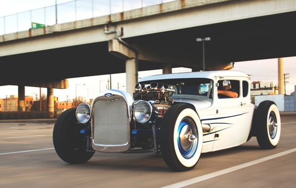 Picture movement, ford, Ford, hot rod, hotrod, motion, model-t, model-t