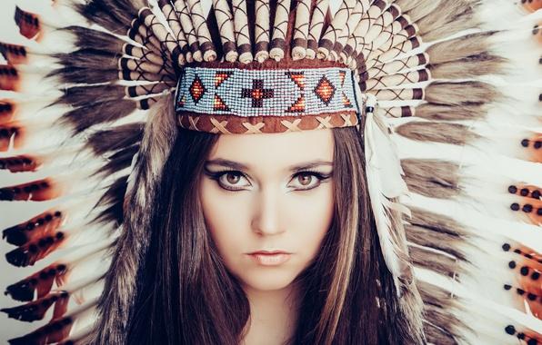 Picture Model, Indian, Lea Carina