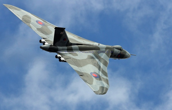Picture weapons, the plane, Avro Vulcan