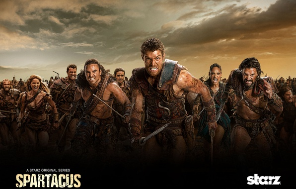 Picture Spartacus, Spartacus, War of the damned