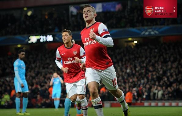 Wallpaper Background, Arsenal, Players, Arsenal, Mesut