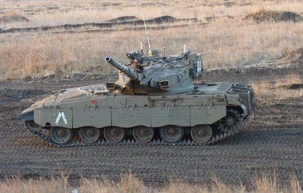 Picture field, tank, combat, Merkava, main, Merkava, Israel