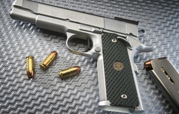 Picture gun, trunk, cartridges, shop