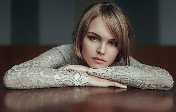Picture Girl, Look, Lips, Face, Hair, Eyes, Beautiful, Anastasia Shcheglova