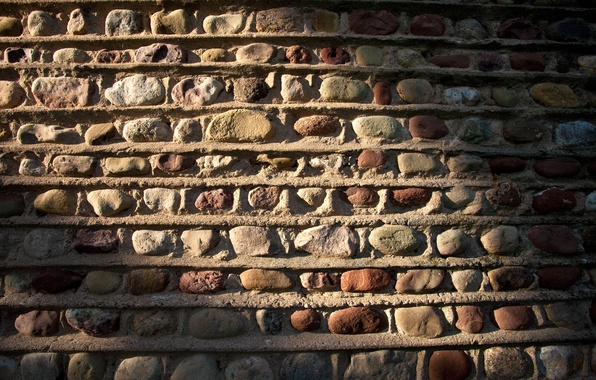Picture wall, stone, color, masonry