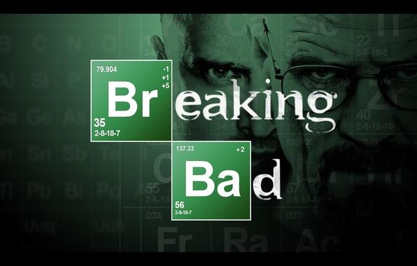 Picture the series, breaking bad, Jesse pinkman, breaking bad, Walter white, methamphetamine, met, periodic table