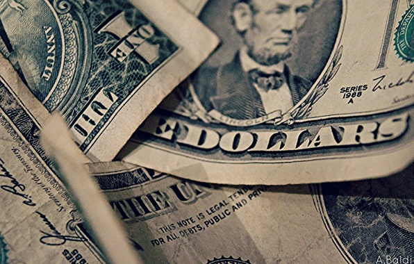 Picture background, Dollars, Macro