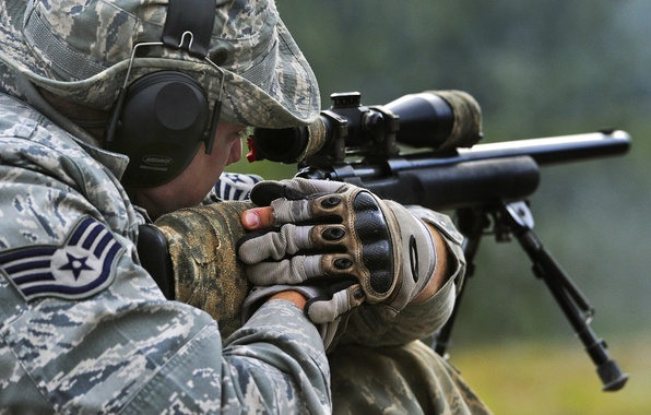 Picture United States Air Force, Sniper, M24