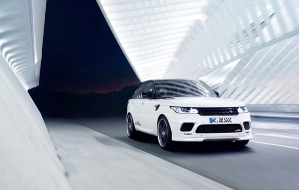 Picture white, Range Rover Sport, by AC Schnitzer